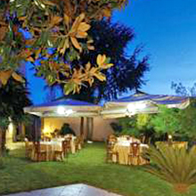 Milonga in giardino all'Hotel Pisani