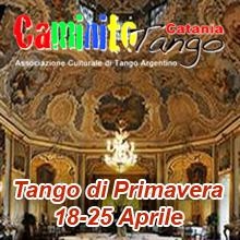 Tango di Primavera a Catania con Adrian Aragon ed Erica Boaglio,  Marko Miljevic e Maja Petrovic