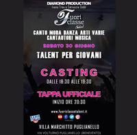 Fuoriclasse Talent, sabato 30 giugno, a Puglianello
