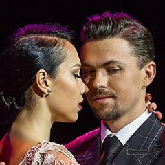 """Dimitry Vasin e Sagdiana Khamzina, campioni del mondo di Tango """"Escenario"""". Al quarto posto Simone Facchini e Gioia Abballe"""
